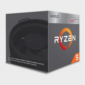 AMD - Cores 4 Threads 8 Processor RYZEN-5-2400G CPU