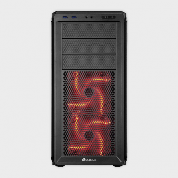 CORSAIR - CABINET (CC-9011036-WW) GRAPHITE SERIES 230T MID TOWER