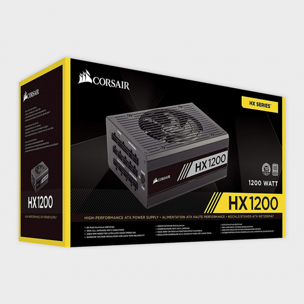 CORSAIR - SMPS (CP-9020140-UK) HX SERIES HX1200 Platinum 1200W PSU