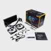 Corsair - Hydro Series H100i RGB PLATINUM 240mm Liquid CPU Cooler