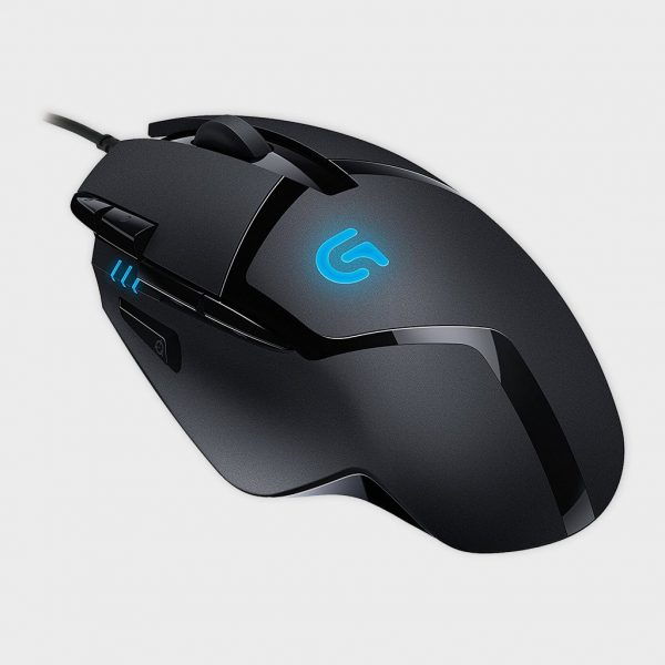 Logitech - G402 Hyperion Fury Ultra Fast FPS Gaming Mouse