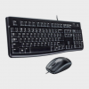 LOGITECH - MK120 WIRED KEYBOARD AND MOUSE