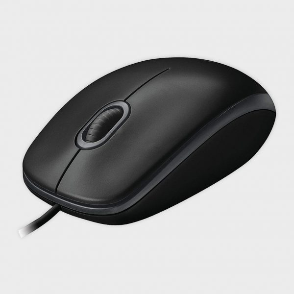 LOGITECH – B100 OPTICAL WIRED USB MOUSE