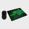 Razer - Abyssus 2000 Gaming Mouse with Goliathus Control Fissure Mouse Mat (Black)