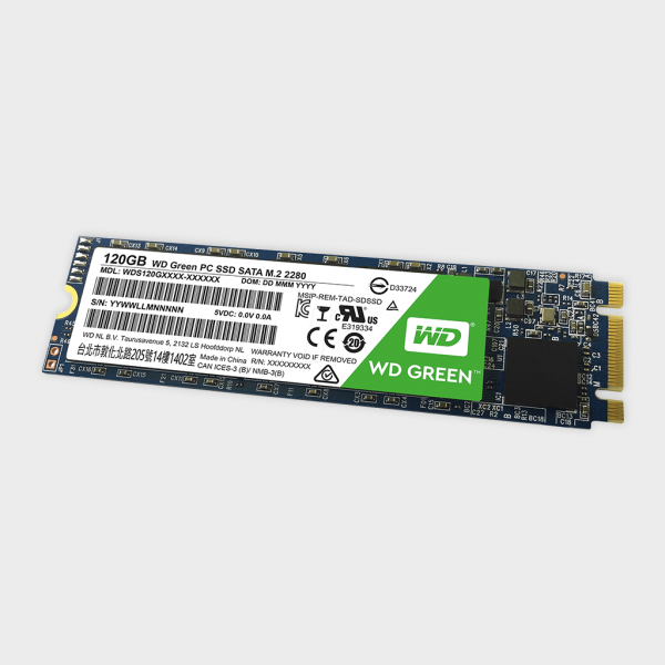 WD - Green 120GB SATA III M.2 Internal SSD (WDS120G1G0B)