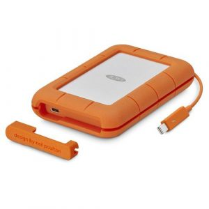 4 TB Rugged Thunderbolt & USB 3.1 Type C w/Rescue