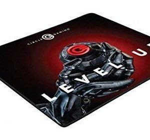 Circle Rapid X - High Speed Glossy Gaming Mouse Pad Mat (Black)