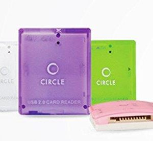 Circle Rootz Multicard reader 5.1 (Color May Vary) by CIRCLE