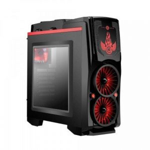 Circle Gaming Phoenix ATX Tower Case with Transparent Side Panel  Cases