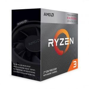 AMD Ryzen™ 3 3200G with Radeon™ Vega 8 Graphics