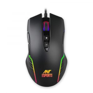 Ant Esports GM500RGB Gaming mouse with 1000 Hz polling rate 4000 Dpi for FPS and MOBA