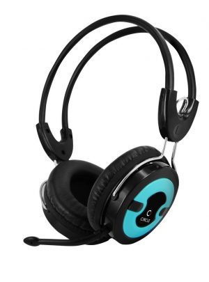 Circle Concerto 202 Multimedia Headphones with mic (Blue) by CIRCLE