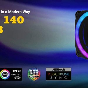 Antec PRIZM 140mm ARGB Dual Ring PWN Fan