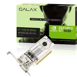 Gt 1030 EX white 2gb sddr4 64 bit /PCI-E 3.0
