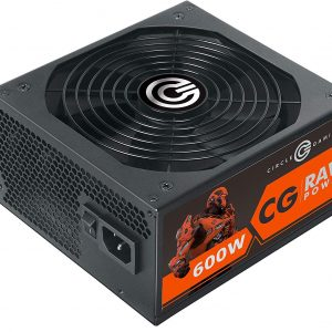 CIRCLE 600 Watt APFC Raw ATX Version 2.31 Gaming Power Supply SMPS