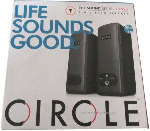 Circle ct 220 2.0 multimedia stereo speaker (black) by circle