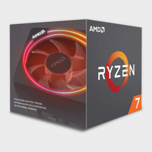 AMD - Cores 8 Threads 16 Processor RYZEN-7-2700X CPU