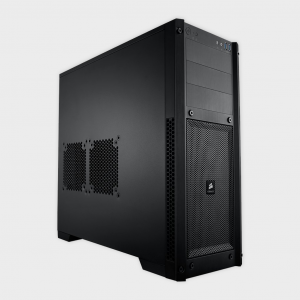 Corsair - cabinet (cc-9011017-ww) carbide series 300r windowed black
