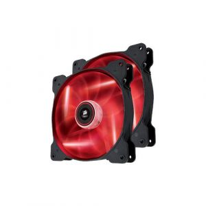 CORSAIR - CASE COOLER (CO-9050026-WW) AIR SERIES SP140 TWIN, LED RED