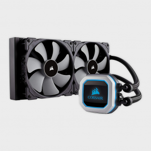 Corsair - h115i pro rgb 280mm cpu liquid cooler cw-9060032-ww