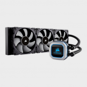 Corsair - h150i pro rgb 360mm cpu liquid cooler cw-9060031-ww
