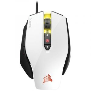 CORSAIR - MOUSE (CH-9300111-AP) OPTICAL GAMING VENGEANCE SERIES M65 WHITE