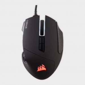 Corsair - mouse (ch-9000231-ap) gaming vengeance series scimitar black