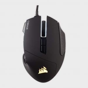 Corsair - scimitar pro rgb optical moba/mmo gaming mouse-black (ap)
