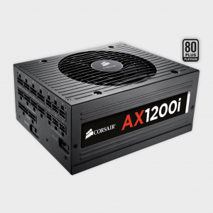 CORSAIR - SMPS (CP-9020008-UK) AX SERIES 1200W AX1200i Platinum PSU