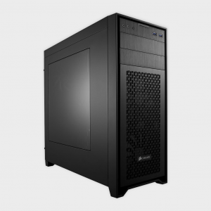 CORSAIR - CABINET (CC-9011049-WW) OBSIDIAN SERIES 450D MID TOWER PC CASE (Black)