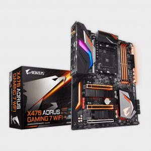 Gigabyte - AMD Socket AM4 X470 AORUS GAMING 7 WIFI Motherboard