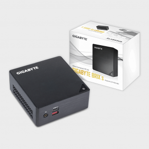 GIGABYTE - BRIX Core i3-7100U Ultra Compact Mini PC Barebone