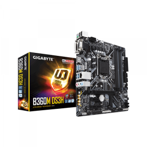 Gigabyte - Intel Socket 1151 B360M-DS3H Motherboard