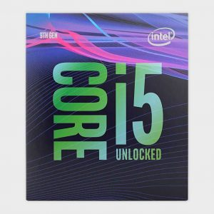 i5-9600K Intel 9th Gen Desktop Processor