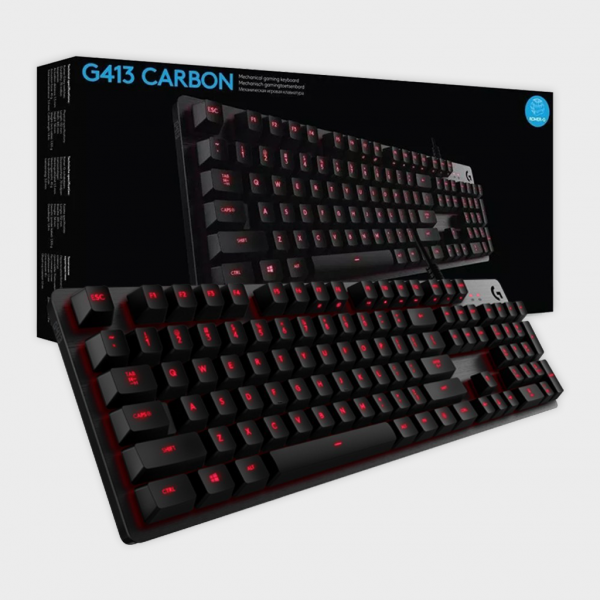 G413 Carbon Mechanical Gaming Keyboard Logitech