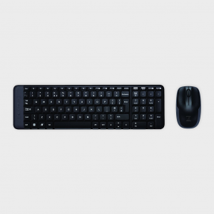 LOGITECH - MK220 Wireless Keyboard and Mouse Combo