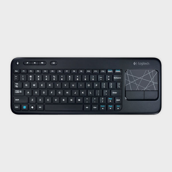 LOGITECH - WIRELESS TOUCH KEYBOARD K400