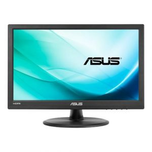 ASUS VT168H Touch Monitor - 39.62cm(15.6) (1366x768), 10-point Touch, HDMI, Flicker free, Low Blue Light