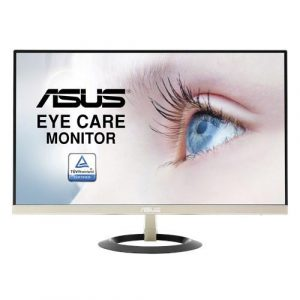 Asus vz249h ultra-low blue light monitor - 60.45cm(23.8) fhd (1920x1080), ips, ultra-slim design, frameless, flicker free
