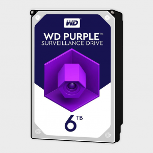 Wd - purple 6tb surveillance hdd (wd60purz)