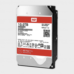 Wd - red pro 10tb nas hdd (wd101kfbx)
