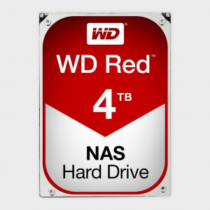 Wd - red 4tb nas hard disk drive (wd40efrx)