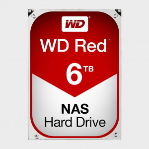 WD Red 6TB NAS Hard Disk Drive (WD60EFRX)