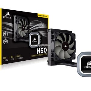 CORSAIR - H60 HYDRO SERIES CPU LIQUID COOLER CW-9060007-WW