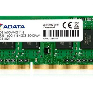Adata-4GB DDR3 1600MHZ Laptop Ram Memory Module (SO-DIMM) PC3L-12800