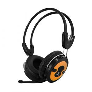 Concerto 203 – single pin headphone with mic (orange)