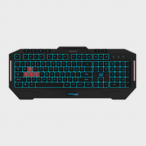 Asus- cerberus mkii gaming keyboard (crbs-kb-mkii-us)