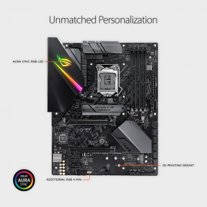 Asus- ROG STRIX B360-F GAMING LGA1151 (300 Series) Motherboard