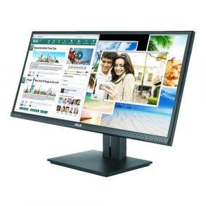See wider, work smarter: ultra-wide 21:9 2560 x 1080 resolution ah-ips panoramic monitor