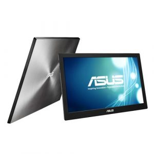 ASUS MB168B Portable USB Monitor - 39.62cm(15.6), HD, USB-powered, Ultra-slim, Smart Case